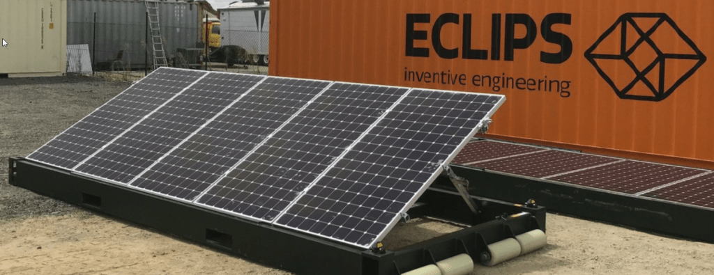 Mobile Solar PVs can now replace diesel generators for disaster relief and military operations