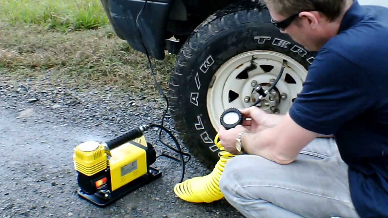 Don't Over Think It-It's Just A 12 volt tire inflator